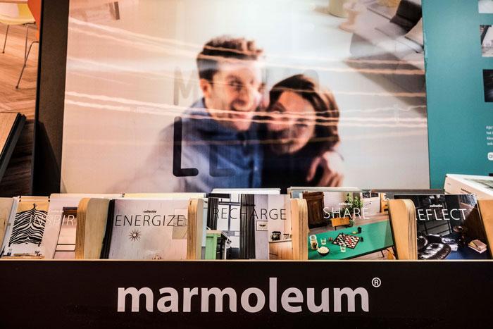 Linoleum en Marmoleum
